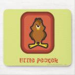 Henery Hawk Little Pecker Mousepad