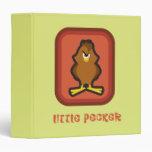 Henery Hawk Little Pecker Vinyl Binders