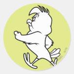 Henery Hawk Walking Classic Round Sticker