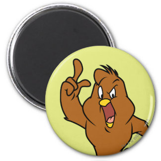 Henery Hawk Yelling 2 Inch Round Magnet