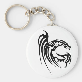 Henham Black Dragon Keychain