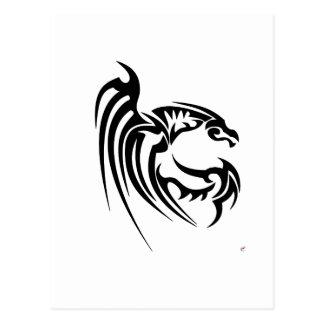 Henham Black Dragon Postcard