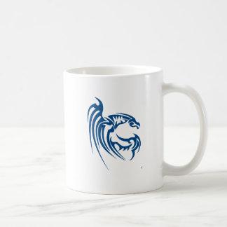 Henham el dragón azul taza de café