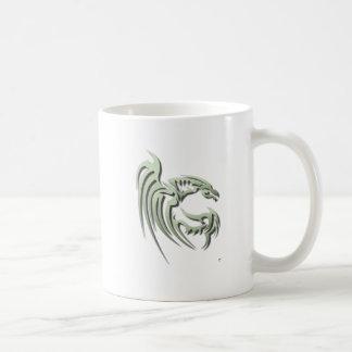 Henham the Metallic Green Dragon Coffee Mug