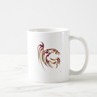 Henham the Metallic Red and Gold Dragon Coffee Mug