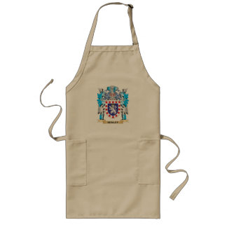Henley Coat of Arms - Family Crest Long Apron