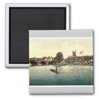 Henley en Thames, hotel rojo del león, Londres y s Imán De Frigorifico