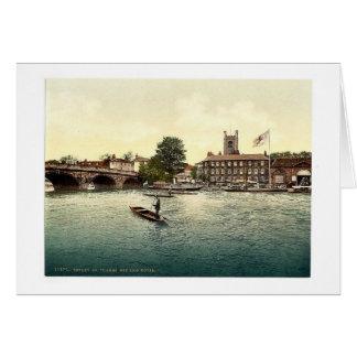 Henley en Thames, hotel rojo del león, Londres y s Tarjeta