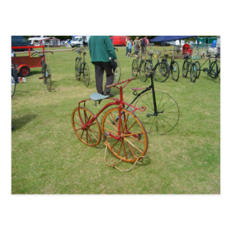 Henley on Thames, Antique bicycles 2 Postcard