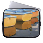 Henley-on-Thames row boats on the Thames River, Laptop Sleeve