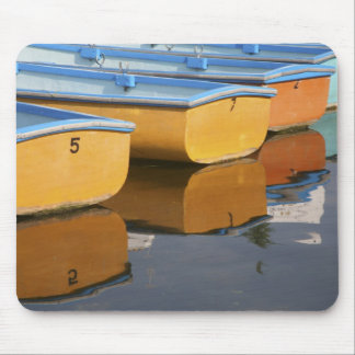 Henley-on-Thames row boats on the Thames River, Mouse Pad