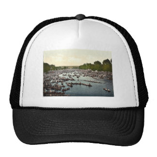 Henley Regatta, I., London and suburbs, England cl Hats
