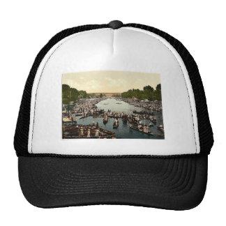 Henley Regatta, II., London and suburbs, England c Mesh Hat