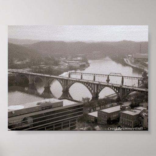 Henly Bridge Poster