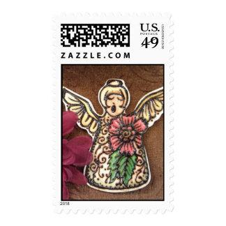 Henna Angel Drawing Stamp