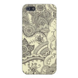 Henna Case Cover For iPhone 5