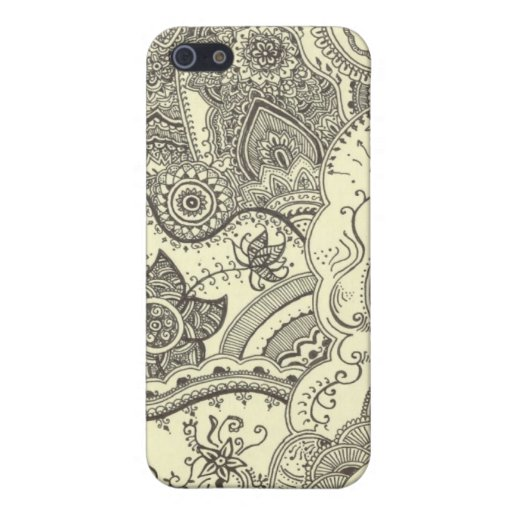 Henna Case Cover For IPhone 5  Zazzle