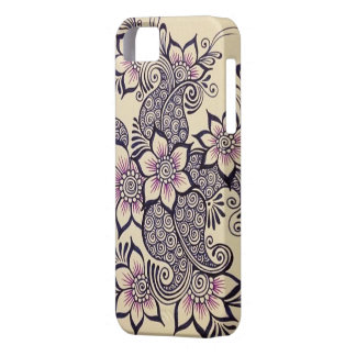 Henna Design I-Phone 5 Case