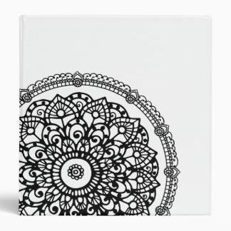 Henna Doodle Binder Design