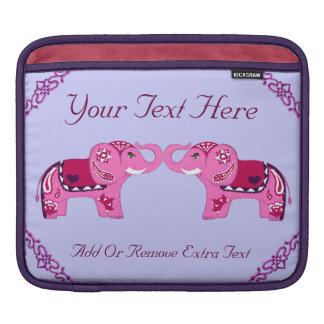 Henna Elephant (Pink/Purple) iPad Sleeve