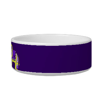 Henna Elephant (Yellow/Purple) Bowl