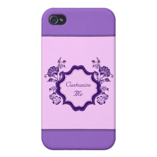 Henna Floral iPhone 4 Case