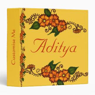 Henna Flower Binder