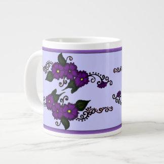 Henna Flower Large Coffee Mug