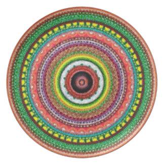 Henna Garden Melamine Plate