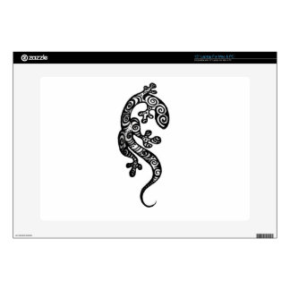 "Henna Gecko By Cynthia McDonald 15"" Laptop Decal"