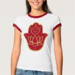 Henna Hamsa Lotus Tee Shirt