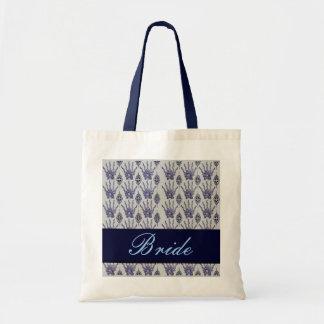 Henna Hand (Blue) (Wedding) Tote Bag