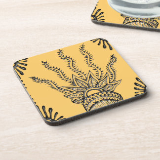 Henna Hand Coasters