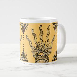 Henna Hand Large Coffee Mug