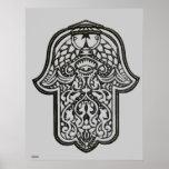 Henna Hand of Hamsa (Original) Print