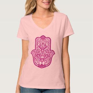 Henna Hand of Hamsa (Pink) 2 T-Shirt