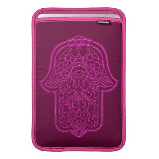 Henna Hand of Hamsa (Pink) MacBook Air Sleeve