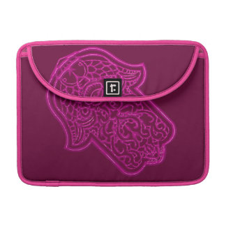 Henna Hand of Hamsa (Pink) Sleeve For MacBooks