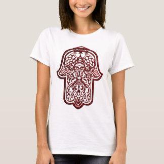 Henna Hand of Hamsa (Red) T-Shirt