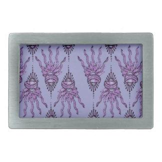 Henna Hand (Purple) Belt Buckle