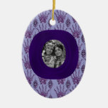 Henna Hand (Purple) (Wedding) Christmas Ornament