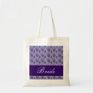 Henna Hand (Purple) (Wedding) Tote Bag
