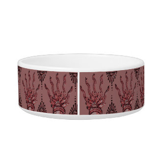 Henna Hand (Red) Bowl