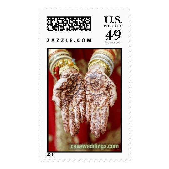 Henna Hands II Postage