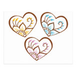 Henna Hearts Postcard