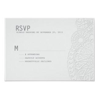 Henna Inspired RSVP Card