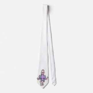Henna lotus flower Tie