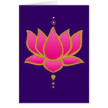Henna Lotus Pink Card