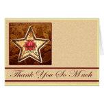 Henna Lotus Star Greeting Card