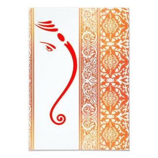 """henna*M Invitación 3.5"""" X 5"""""""